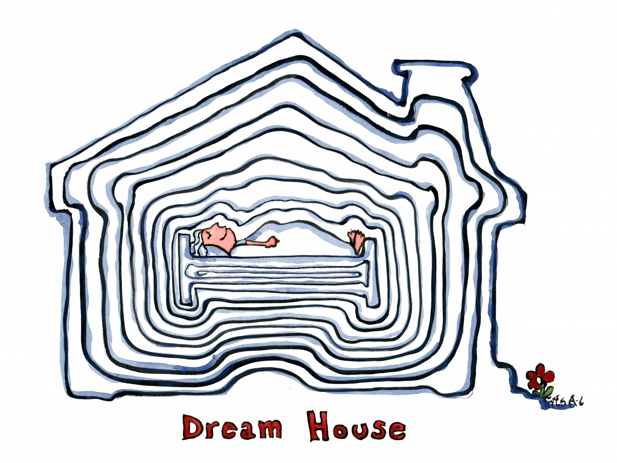 Drawing of a digital dwelling
